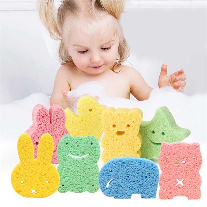 かわいい新生児ベビーシャワーのお風呂こする幼児よちよち子供バースブラシ綿こすりボディウォッシュタオルアクセサリー