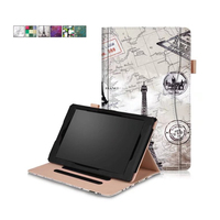For Kindle Fire HD 10 2017 Case Smart PU Leather Sleeve For Amazon Kindle Fire HD