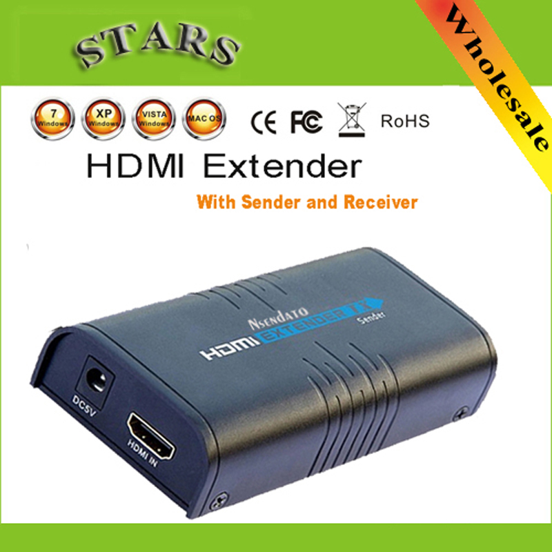 LKV373 Wireless hdmi Ethernet Network Networking only transmitter Extender 100M over Cat5e CAT6 cable Free Shipping