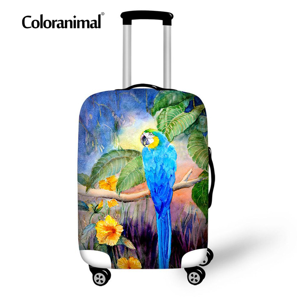 Coloranimal Men's Women Waterproof Protection Luggage Cover Design Style Cover Suitcase Bag Luggage Cover Travel Accessories