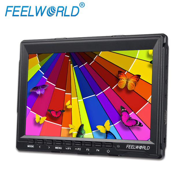 """Feelworld FW74K 7"""" Ultra-thin Design IPS 1280x800 4K HDMI On-camera Monitor with Peaking Focus"""