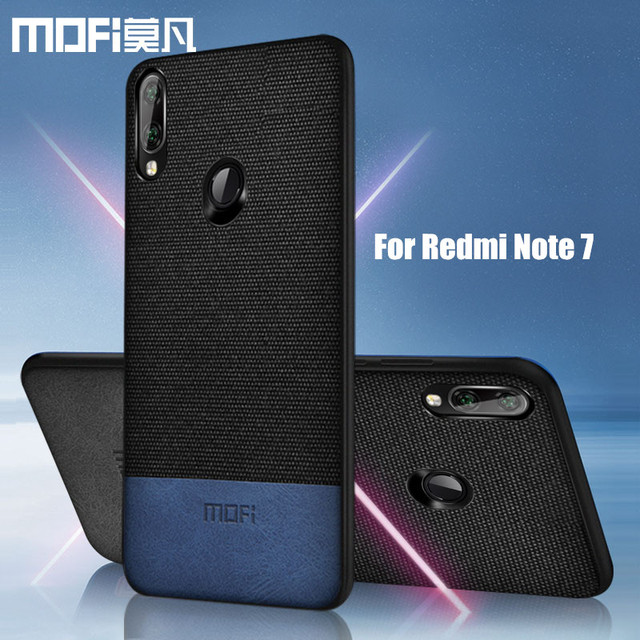 MOFi Redmi Note 7 7 Pro Luxury Business Design Shockproof Back Case Cover