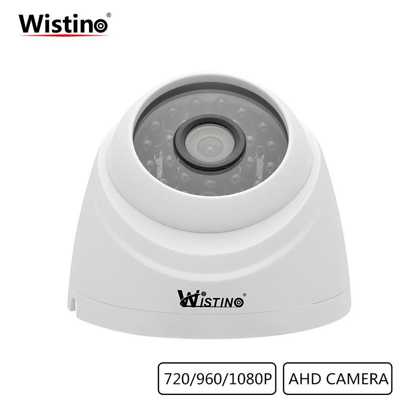 Wistino Security AHD Camera CCTV HD 1080P Analog Camera XMeye Surveillance Indoor Home Video Camera Dome IR Night Vision 720P