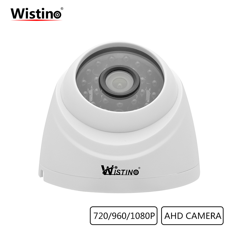 Wistino Security AHD Camera CCTV HD 1080P Analog Camera XMeye Surveillance Indoor Home Video Camera Dome IR Night Vision 720P ahd 720p hd plastic shell mini dome analog ahd cctv camera indoor ir cut night vision plug and play home security freeshipping
