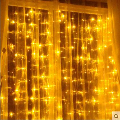 8X4M New Year Garland LED Christmas Lights Outdoor Natal Cristmas Decoration LED String Fairy Curtain Lights Luces De Navidad