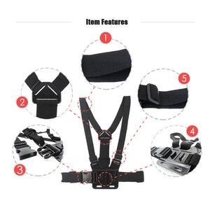 Image 4 - Vamson For Gopro Hero 9 8 7 6 5 4 Chest Strap Mount For Hero9 For Yi 4K Chest Harness Belt For Go Pro 8 7 Camera VP203B