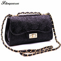 Hot Women Handbag Leather Embossed Rose Flowers Crossbody Messenger Bag Women Floral Lock Bolso Mujer De Hombro Shoulder Bag