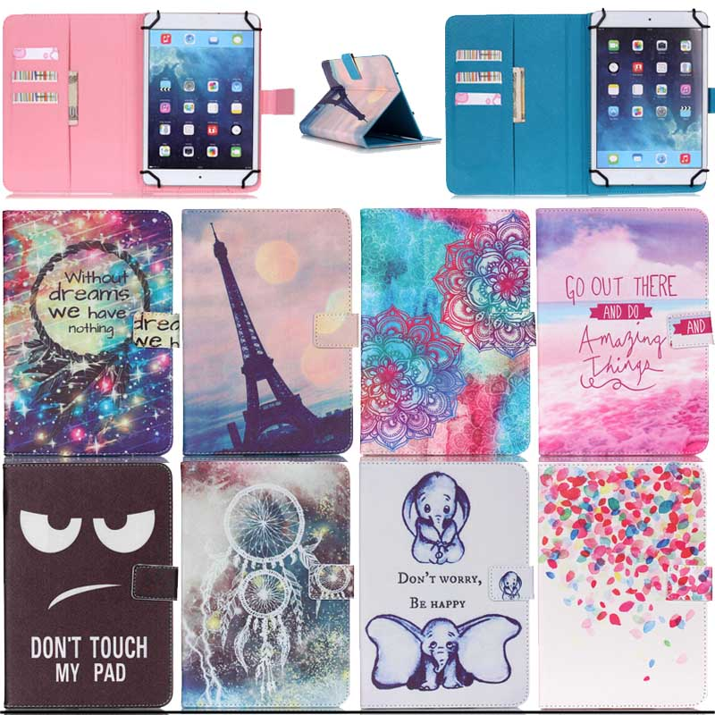 Wallet PU Leather Magnetic Cover Case For Archos 101 Magnus /96 Xenon10.1 Universal Tablet For Android 10 inch cases Y5C53D
