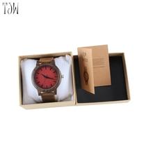 2018 Лидер продаж модные деревянные часы Natrual бамбука наручные часы с натуральной кожи браслет Кварцевые часы Для мужчин часы Для женщин подарок