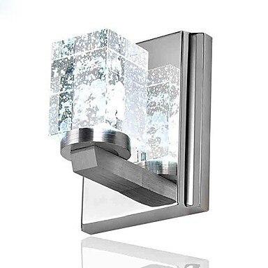 Настенные бра, Нержавеющаясталь покрытие современные настенные светильники светодиодные лампы для дома Освещение Бесплатная доставка