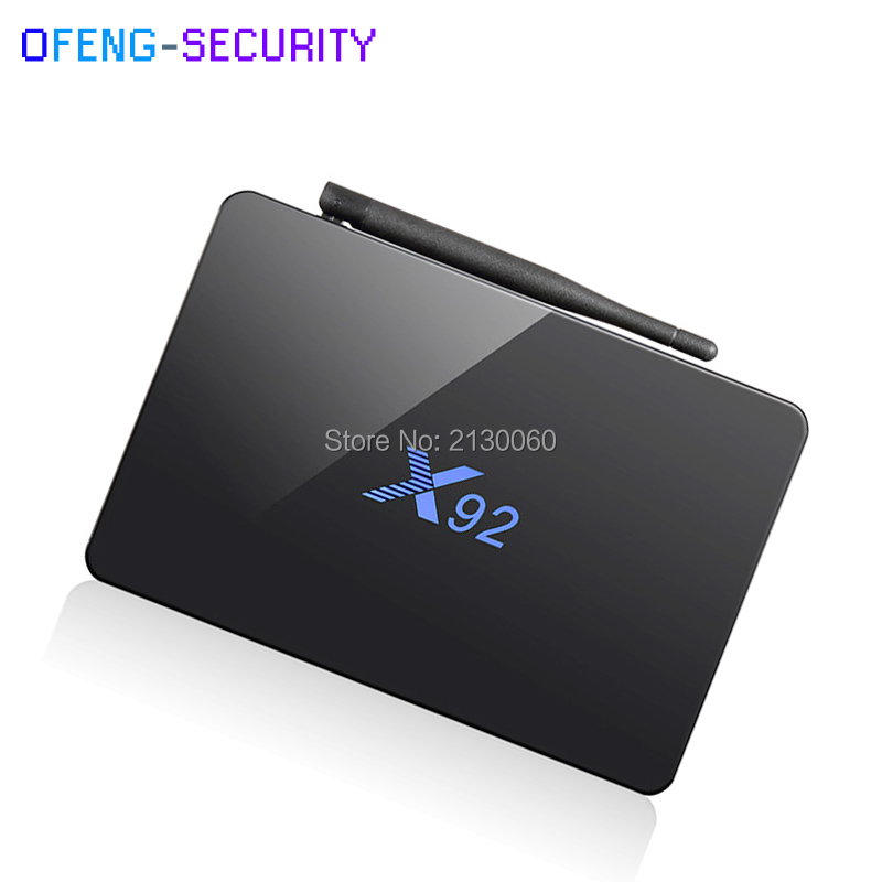 2018 NEW X92 Smart TV Box Android 6.0 smart TV 2GB 3GB 16GB 32GB Amlogic S912 Octa Core CPU 5G Wifi 4K H.265
