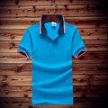 Nuevos hombres de la Marca Polo Para Hombres Polos de Los Hombres de Algodón Cortos camisa de manga camisetas deportivas golfs de tenis Más El Tamaño M-4XL