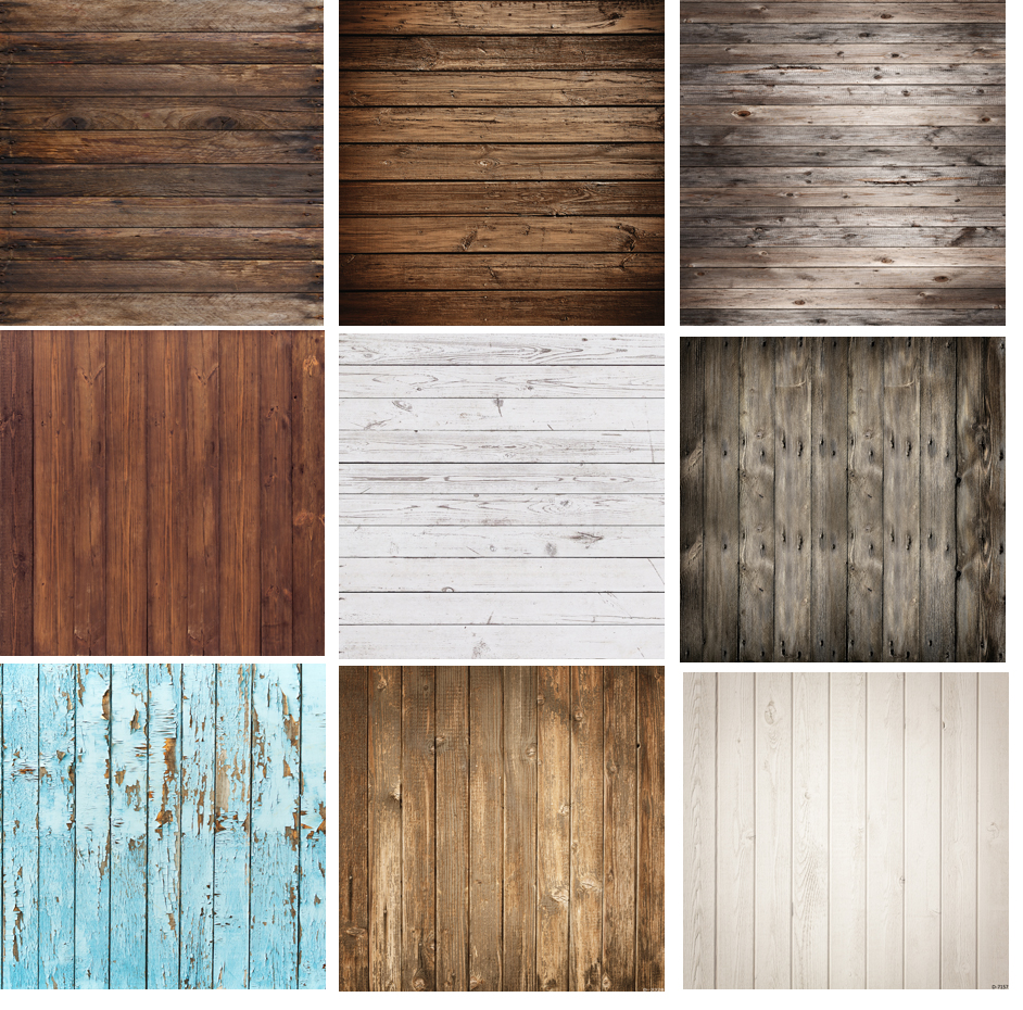 Wood Floor Backdrop Brown And White Wooden Wall Photography Background Photo Studio Props Photo Booth Props