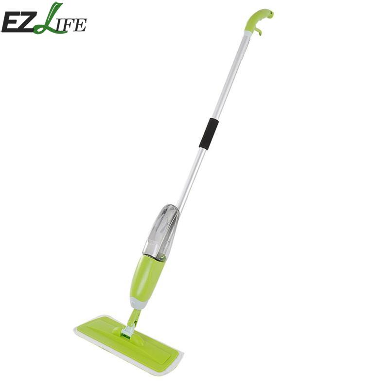 Microfibre Spray Mops Spray Water Mop Hand Wash Plate Mop Wood Floor Tile Home Kitchen Cleaning Mop Tools SQA0636