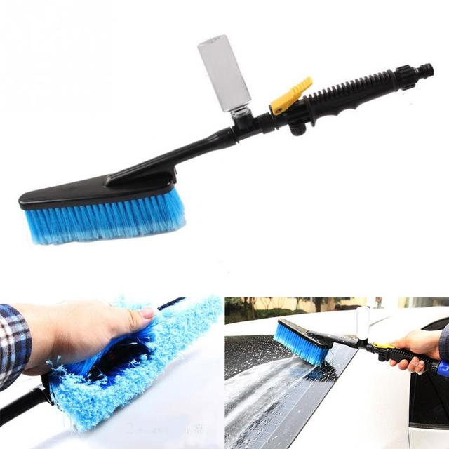 Convenient Car Wash Brush Water Flow Switch