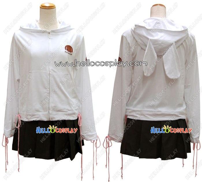 Coat + Skirt Japanese Anime Outfit Durarara!! Cosplay Mairu Orihara Costume H008