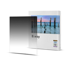 B.way Photographic Square GND 0.9/1.2 SOFT(s) EDGE Gradient Neutral Density Filter 150x170mm nisi 150 170mm square soft gradial gradient graduated gray neutral density filter gnd8 0 9 optical glass reduce light 3 stop