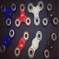 7 estilos de Triple Spinner Fidget Juguete Pvc EDC Mano Spinner Para Tiempo de Rotación Larga Híbrido eramic Teniendo Anti Estrés TDAH Rotati