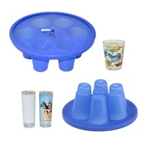 6 in 1 Rubber Slicone Clamp Mold For Shot Glass Wine Glass Mug For 3D Sublimation