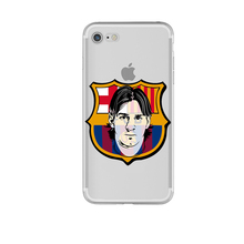 FC Barcelona Messi Phone Cases  for iphone 5s 7 6 6s 5 se 6splus 7plus