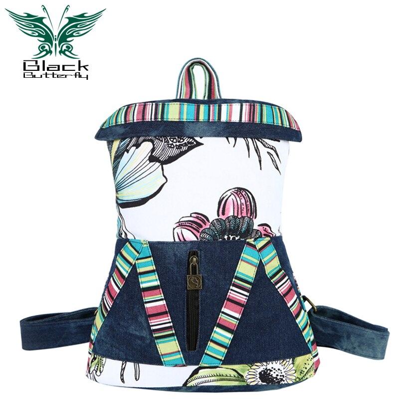 2019 offre spéciale offre spéciale Denim Mochila Escolar sac à dos sac à dos sac à dos nouveau sac à dos sac de voyage, vent Jeans Fashionista.