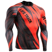 Life On Track Fashion Men Long Sleeves Cycling Jersey 4 Seasons Comfortable Fitting MTB Bike Bicycle