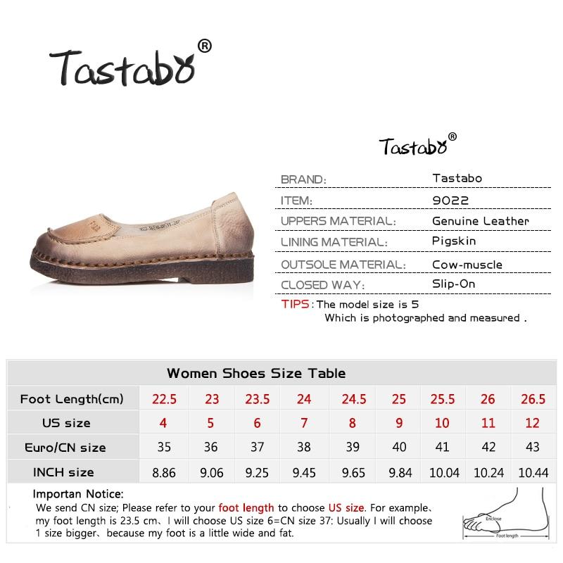 Тастабо Ципеле Женски 2017 Јесен Цов - Женске ципеле - Фотографија 3