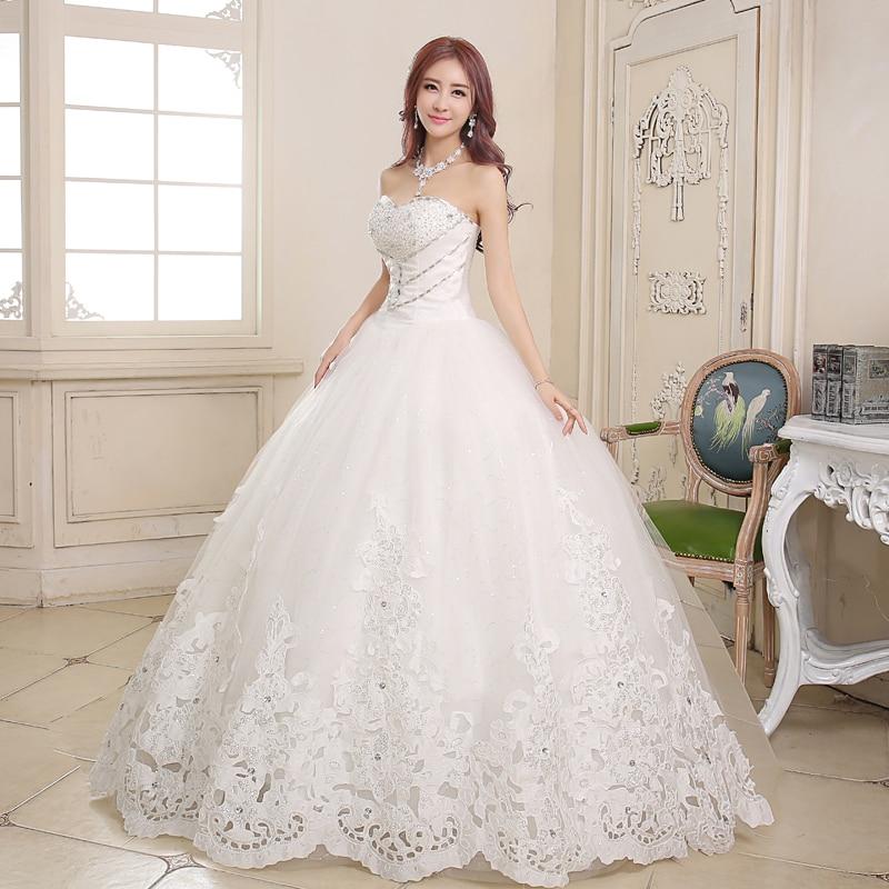 Wedding Gown Bra: Peach Girl New Thin Lace Bridal Gown 2015 Korean Princess