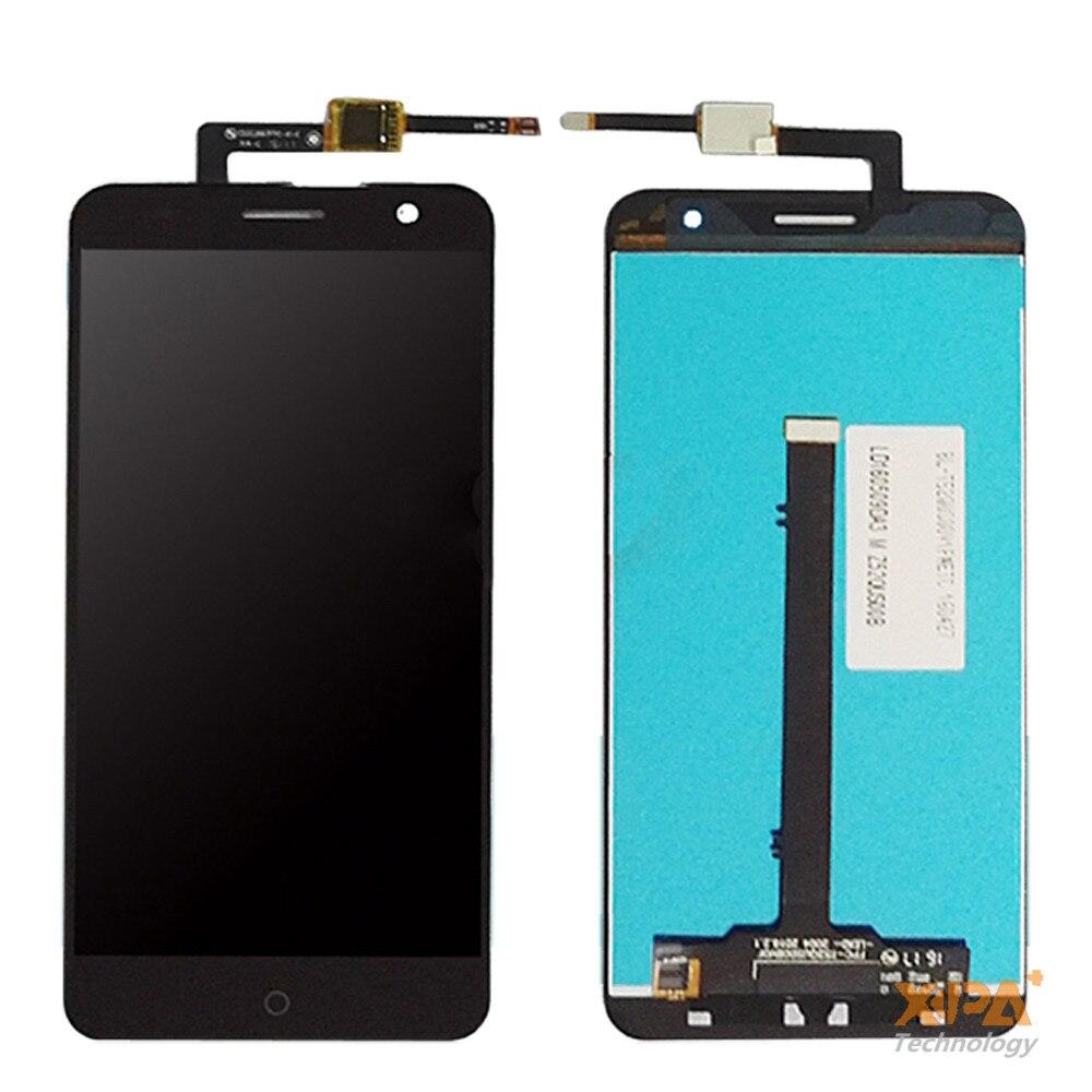 Prueba del 100% para ZTE Blade V7 pantalla LCD + pantalla táctil reemplazo de la Asamblea del digitalizador para ZTE V7 envío libre del teléfono