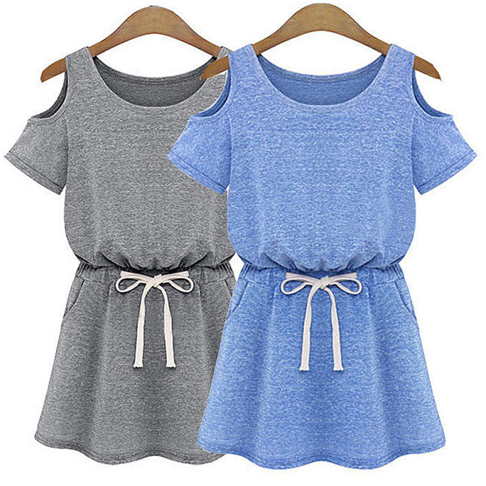 Women summer off shoulder shoulder causal short loose for 100 cotton t shirts shrink