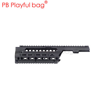 Novelty Outdoor DIY CS Game toy Playful bag MP5 water bullet gun refitted APX nylon reinforced black shell accessories OA08