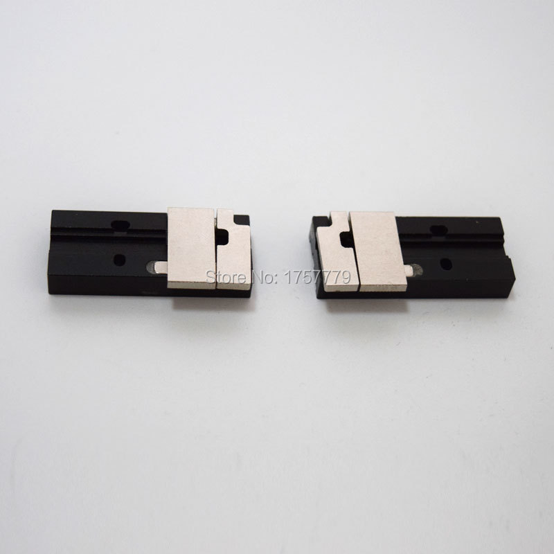 Free shipping FTTH FSM 60S Fusion Splicer covered wire clamps FSM 80S Covered wire fixture