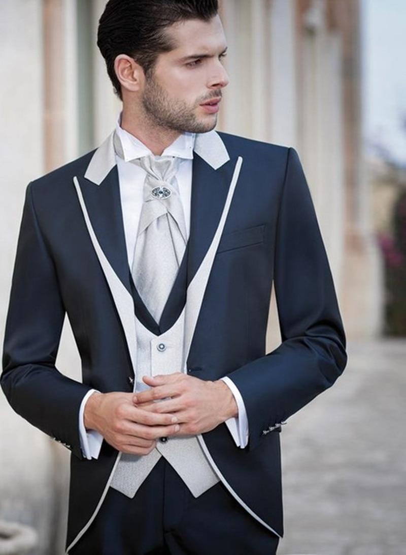 2017 new formal Ivory Men Suits Shawl Lapel Formal Groomsmen Best ...