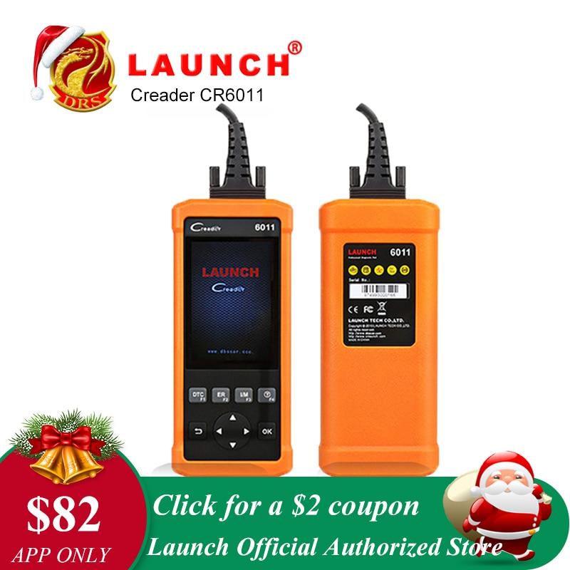 Original Launch CReader 6011 CR6011 OBD2 EOBD Auto Diagnose-Tool Starten Scanner ABS SRS System Volle OBDII Funktionen Code Reader