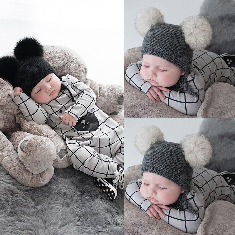Newborn Infant Baby Boy Girls Clothes Bear Plaid Romper Jumpsuit Kids Clothing Long Sleeve newborn infant baby romper cute rabbit new born jumpsuit clothing girl boy baby bear clothes toddler romper costumes