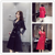 2016 New Women Trench Coat Double Breasted Lapel Slim Section Lines With A Coats Red Black 3094