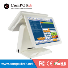 15 Zoll Touch Dual Screen Retail POS Touch Screen Bis/Touch POS-Terminal/Touchscreen POS Maschine/Cash Register