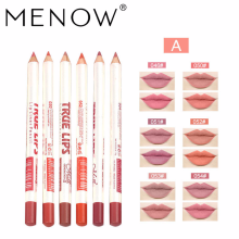 Menow/ Menow Explosion Models 6 Mixed Colors/set Makeup P14002 Lip Liner Waterproof Lipstick Pen