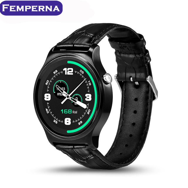 GW01 Bluetooth 4.0 Smart Watch Heart Rate Monitor IPS Round Screen Life Waterproof Sports Wristband Watch For Android 4.3 iOS 7