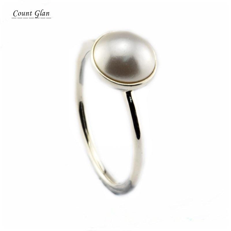 anello pandora perla