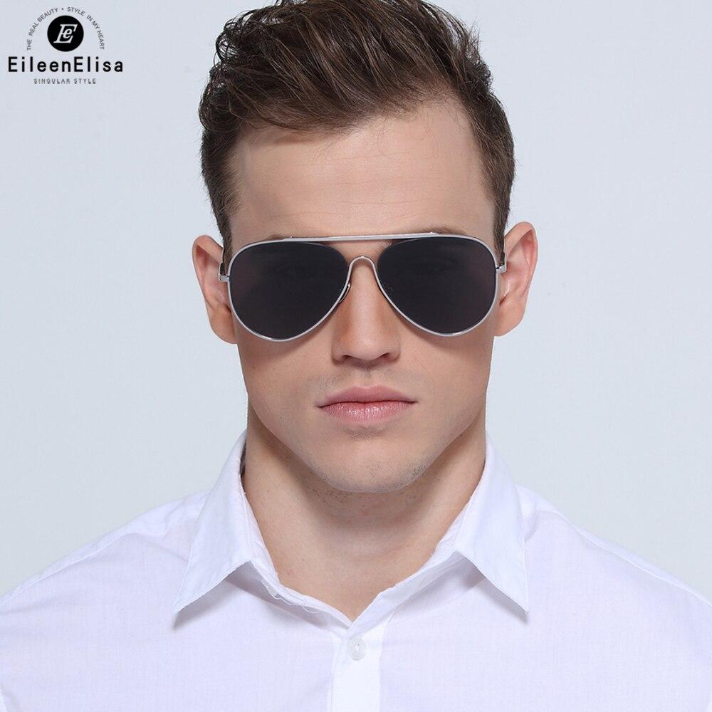 EE pilote Style lunettes De soleil hommes lunettes De soleil marque Designer lunettes De soleil pour conduire Oculos De Sol Masculino avec boîte