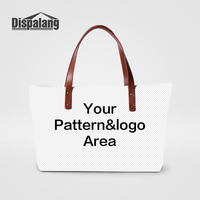 Dispalang Designed By Yourself Personality Womens Handbags Customized Lady Top Hand Bag Girls Messenger Bag Uniquie