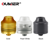 Original OUMIER WASP NANO RDA Tank 22mm Diameter Rebuildable Tank Atomizer Bottom Filling Exchangeable Squonkable Bottom
