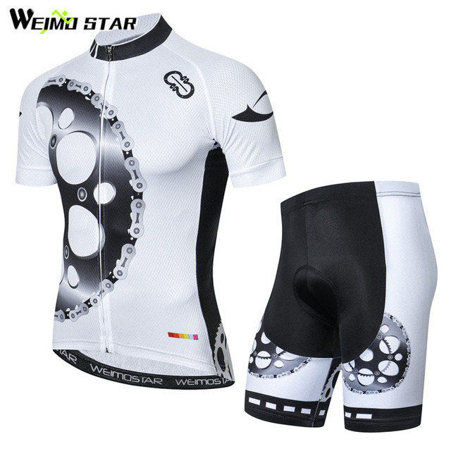 Weimostar 2018 Summer Short Sleeve Cycling Jersey Set Breathable mtb  Bicycle Clothing Pro Team Bike Jersey Maillot Ropa Ciclismo bceb2d6a4