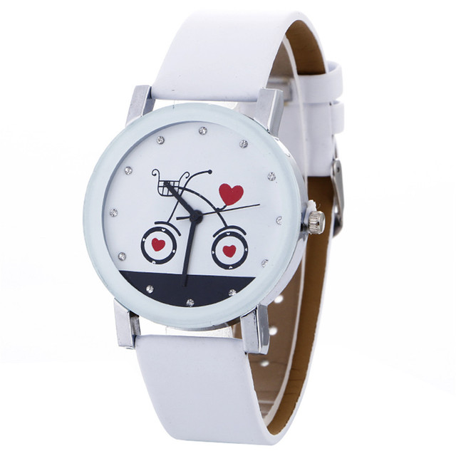 Stylish NEW Women Watches White Ladies Simple Fashion Quartz Wrist Watch Female