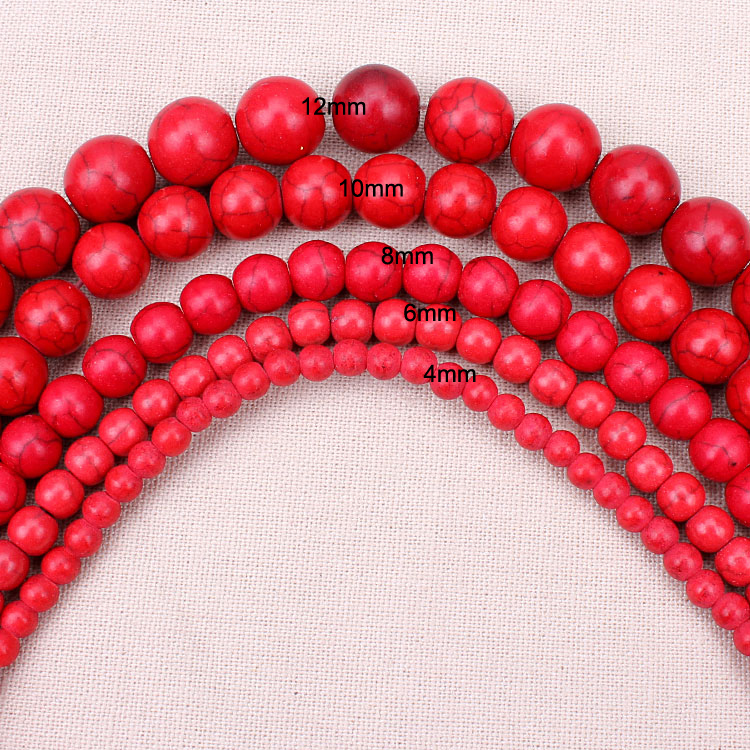 1-strand-pack-fontb4-b-font681012mm-dia-red-smooth-howlite-natural-stone-loose-beads-for-diy-bracele