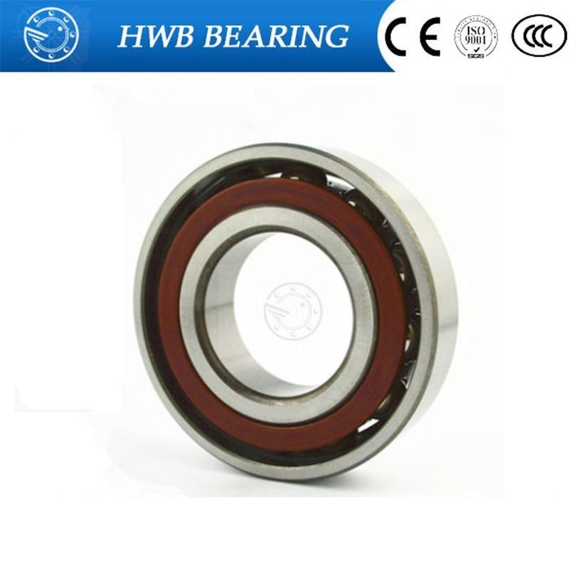20mm diameter Angular contact ball bearings 7204 C/P5 20mmX47mmX14mm,Contact angle 15,ABEC-5 Machine tool original 7003 ac p5 angular contact ball bearings 17 35 10