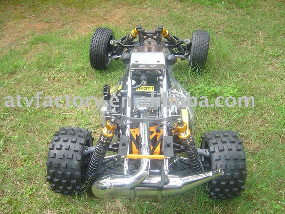 rc car 1 5 rc gas car in ride on cars from toys hobbies. Black Bedroom Furniture Sets. Home Design Ideas