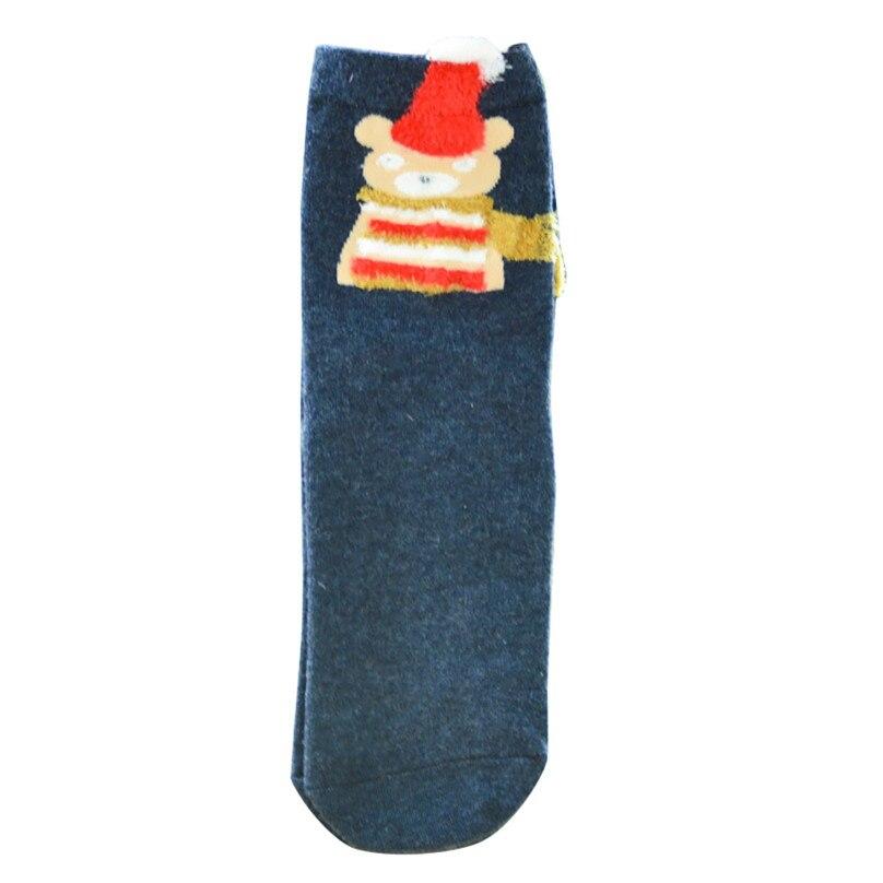 Christmas Women Girl Casual Socks Cotton Women Warm Socks Printing Cute Casual Socks For Christmas Gift Wholesale 30OT15 (3)