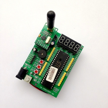 Single chip development board wireless digital communication STC89C52